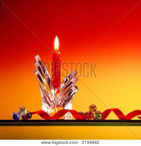 Beautiful Christmas Candle.