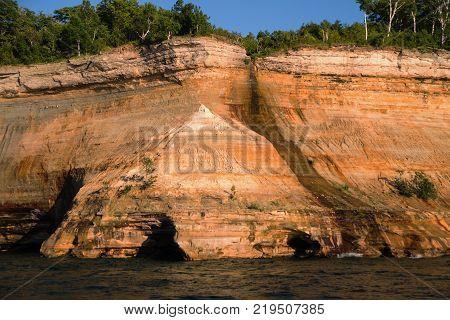Bridal Veil Falls at Pictured Rocks National Lakeshore