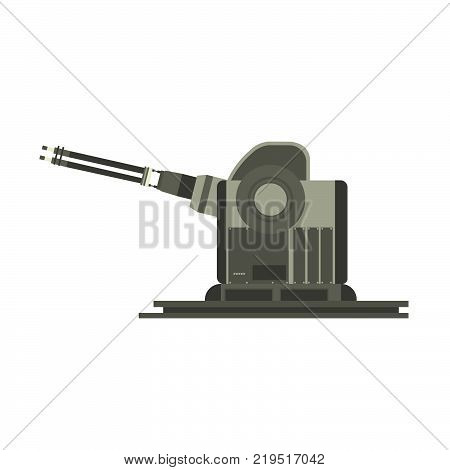 Ship warship navy military battle battleship boat silhouette vector army sea. Destroyer weapon gun turret