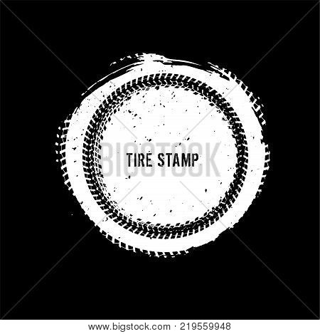 Grunge Off-road Post And Quality Stamp. Automotive Element Useful For Banner, Sign, Logo, Icon, Labe