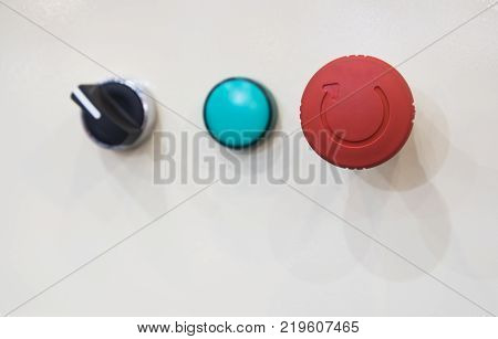 emergency stop button;Security push switch;shut down;For safety issue