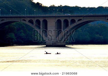Symmetric Key Bridge and Rowers