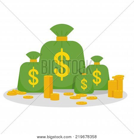 Money Related Black Icons Set