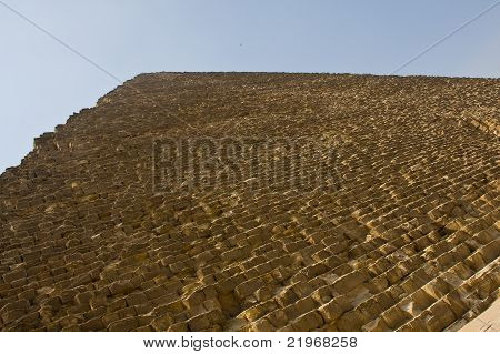 Great Pyramid of Khufu in Giza, Egypt