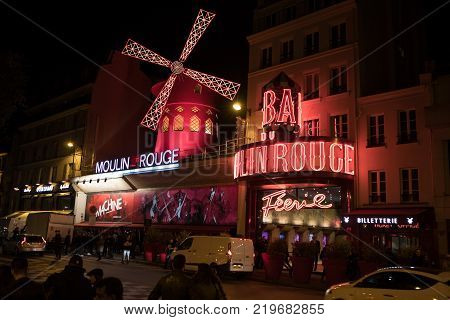 Moulin Rouge In The Evening