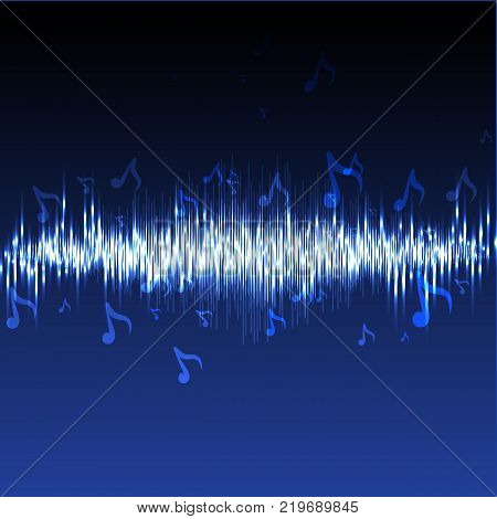 Equalizer music, Technology equalizer recording and vector illustration