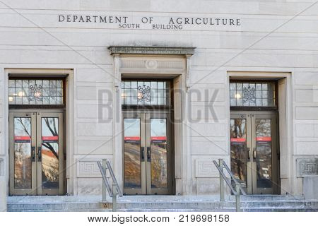 United States Department of Agriculture Washington DC USA