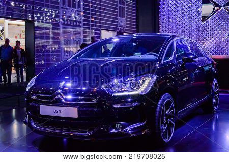 Citroen DS 5 at Paris Auto Motor Show. Paris, France - October 5, 2014