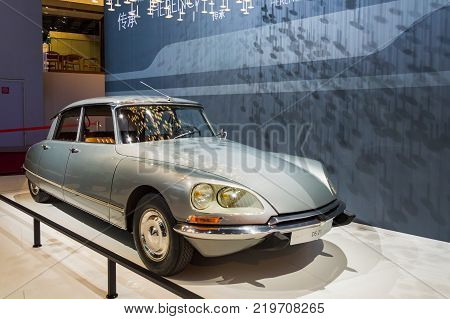 Citroen at Paris Auto Motor Show. Paris, France - October 5, 2014.
