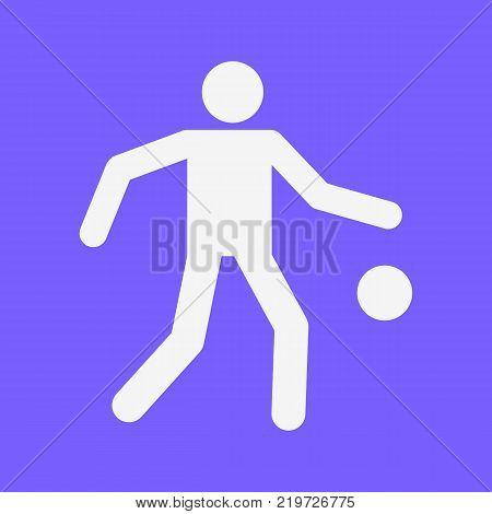 Basketball Dribbling Sport Figure Symbol Vector Illustration Graphic Design
