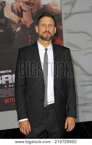 Director David Ayer attends the Netflix