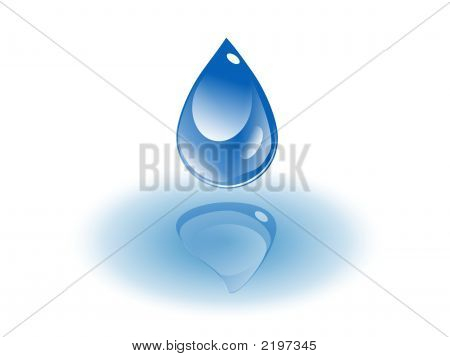 A Clear Water Drop