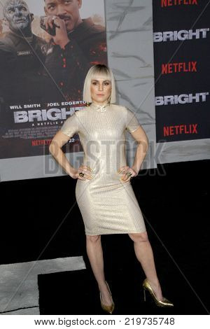 Noomi Rapace attends the Netflix