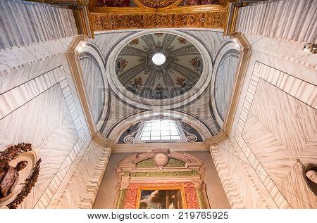 San Carlo Al Corso Church, Rome, Italy