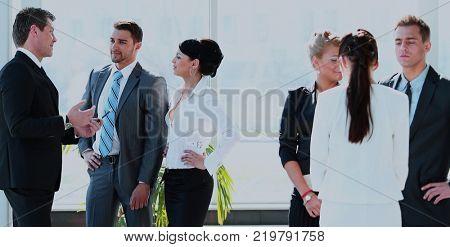 Successful busines team  in a modern office