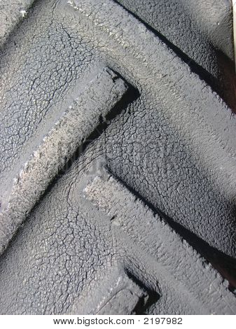Weathered Tractor Tire
