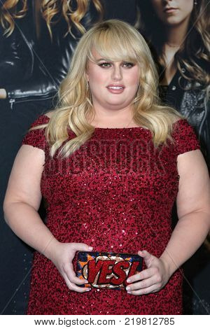 LOS ANGELES - DEC 12:  Rebel Wilson at the