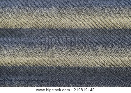 Background of a sheet of slate covered with frost.