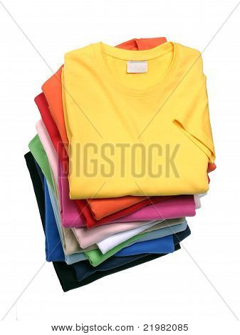 Stack of T-Shirts