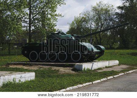 IP 2 Russian retro tanks from second world war