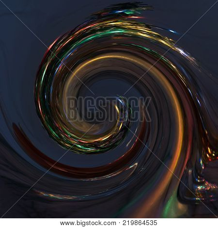 Hypnosis Spiralconcept for hypnosis descending pattern abstract background of scintillating circles turquoise colored texture