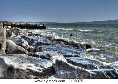 Weathered Coastal Rocks