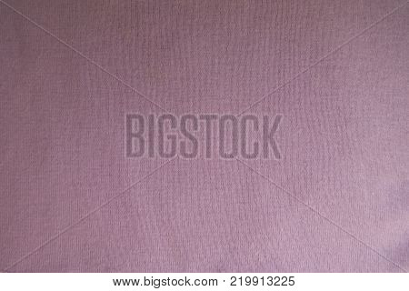 Light pink fabric without prints from above