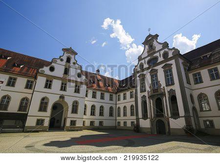 City Museum In Fussen In Bavaria, Germany