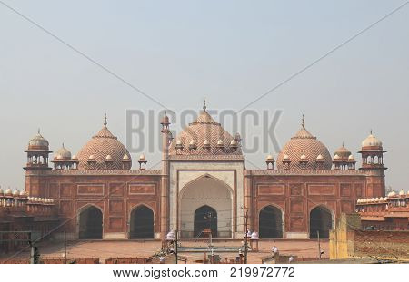 Jama Masjid Mosque Historical Architecture Agra India