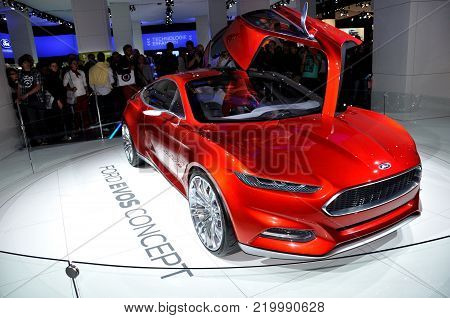 FRANKFURT - SEPTEMBER 18: car shown at the 64th Internationale Automobil Ausstellung (IAA) on September 18, 2011 in Frankfurt, Germany.