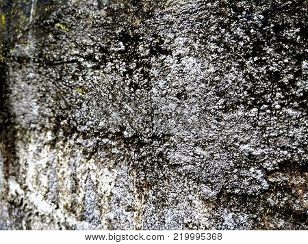 Background concrete wall traces rough. rough wall. cement wall