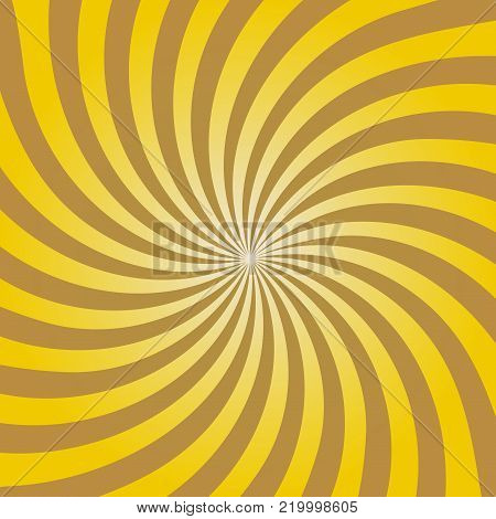 Swirling radial pattern background. Vector illustration for swirl design.  Vector illustration.