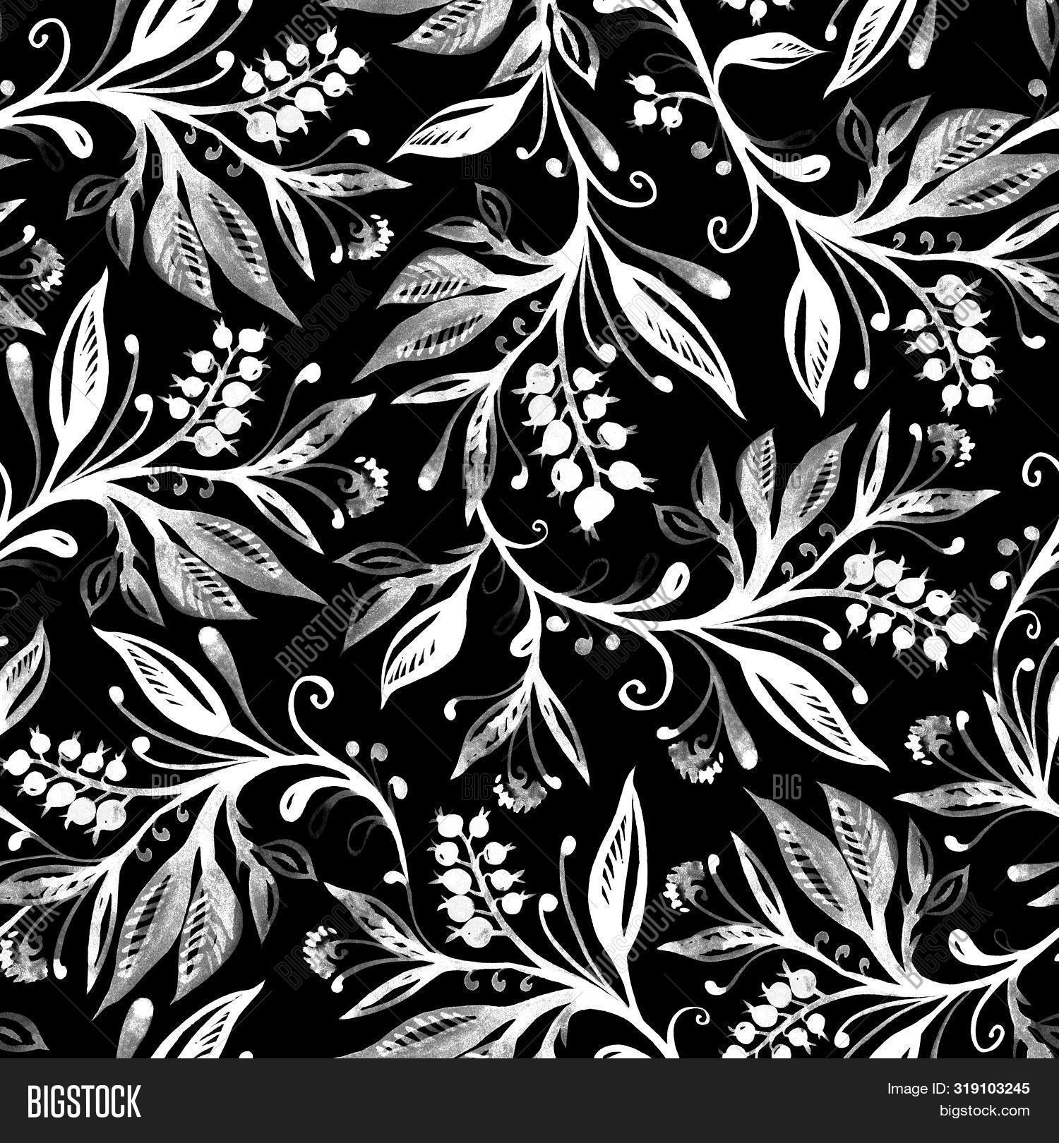 Floral Seamless Image Photo Free Trial Bigstock