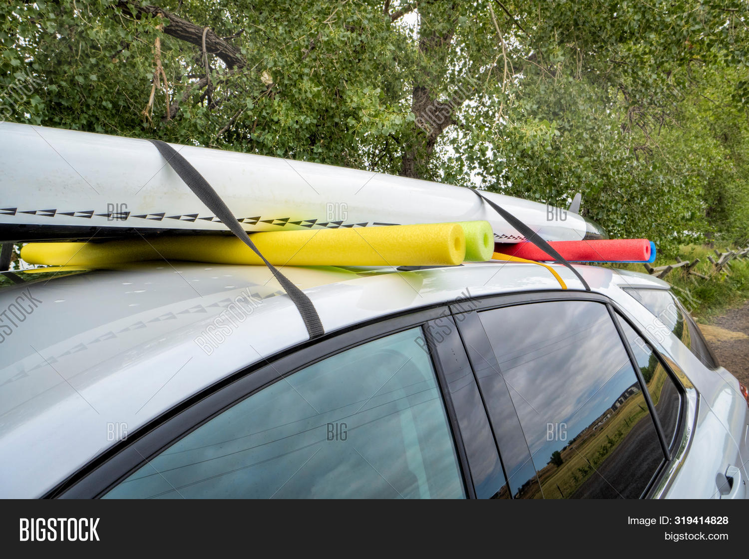 Paddle Board Car Racks >> Stand Paddleboard On Image Photo Free Trial Bigstock