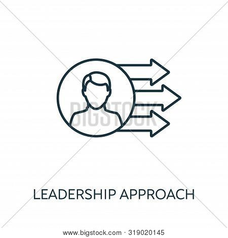 Leadership Approach Outline Icon. Thin Line Concept Element From Risk Management Icons Collection. C