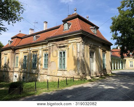The New Castle Of Count Marko Pejacevic Or Novi Dvorac Grofa Marka Pejacevica - Nasice, Croatia