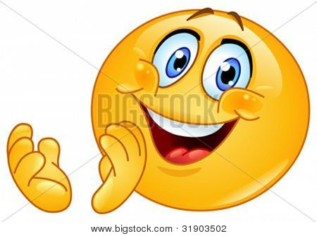 Emoticon clapping