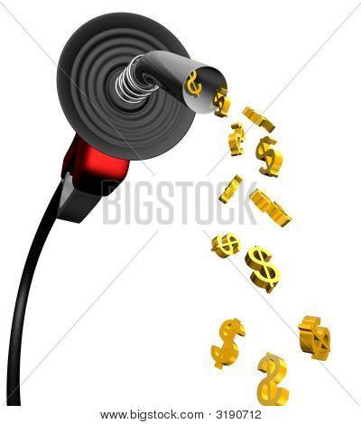 Gas Pump Dollar 2