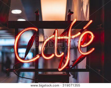 Cafe Neon Sign Lights Decoration Cafe Shop Restaurant Signage