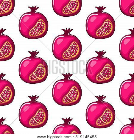 Seamless Pattern Rosh Hashanah, Shana Tova Or Jewish New Year Motif Can Be Used In Textiles, For Boo