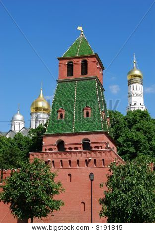 Tower Of Moscow Kremlin