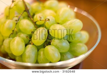 Grapes In Bowl