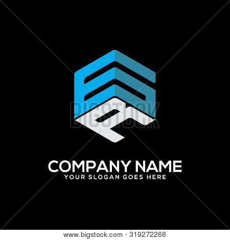Gr Initial Letter Logo Inspiration, G And R Combination Logo Vector With Hexagonal Idea