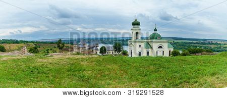 Panorama Khotyn Fortress Of The X Xviii Centuries With A Fortification Complex, One Of The Seven Won