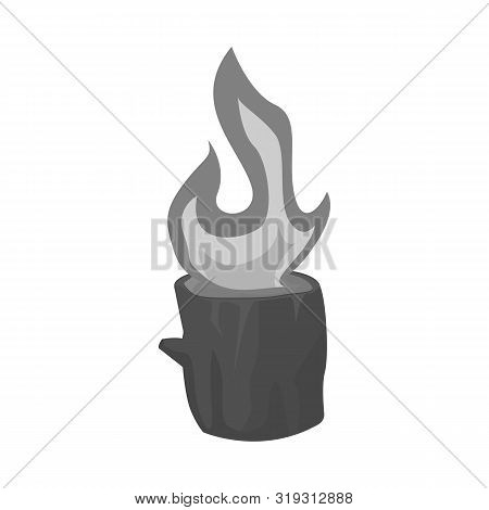 Vector Design Of Blaze And Fiery Logo. Set Of Blaze And Blazing Stock Symbol For Web.