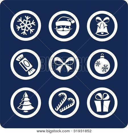 Navidad y año nuevo (p.1) para ver todos los iconos, búsqueda por palabras clave:
