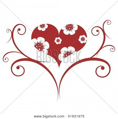 Valentines ornament. To see all my ornaments, search by keywords: