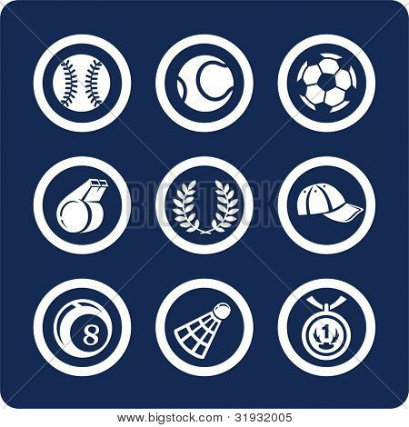 Sport (p.2). To see all icons, search by keywords: