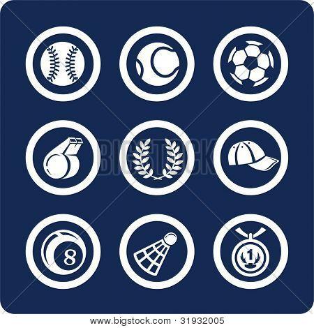 Deporte (p.2). Para ver todos los iconos, búsqueda por palabras clave: