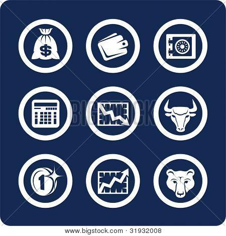 Geld und Finanzen (p. 1). Um alle Symbole anzuzeigen, mit Suchbegriffen zu suchen: